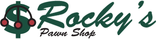 Rocky's Pawn Shop logo